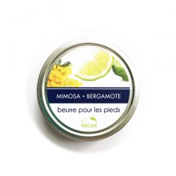 Beurre pour pieds MIMOSA BERGAMOTE 45 g