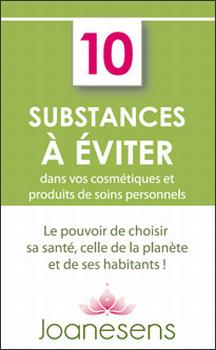 10 substances à éviter